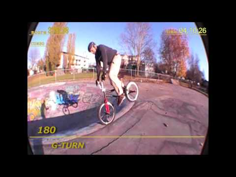 Ron Mercer BMX Game by Braeden Barnard