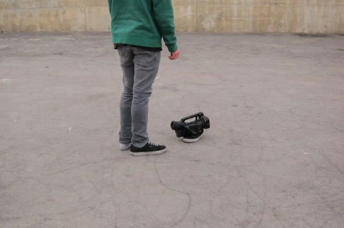 luke - shoe tripod