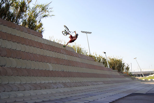 Justin Schwanke and Thomas Henderson in Spain