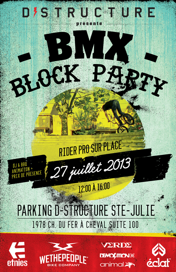 poster block party