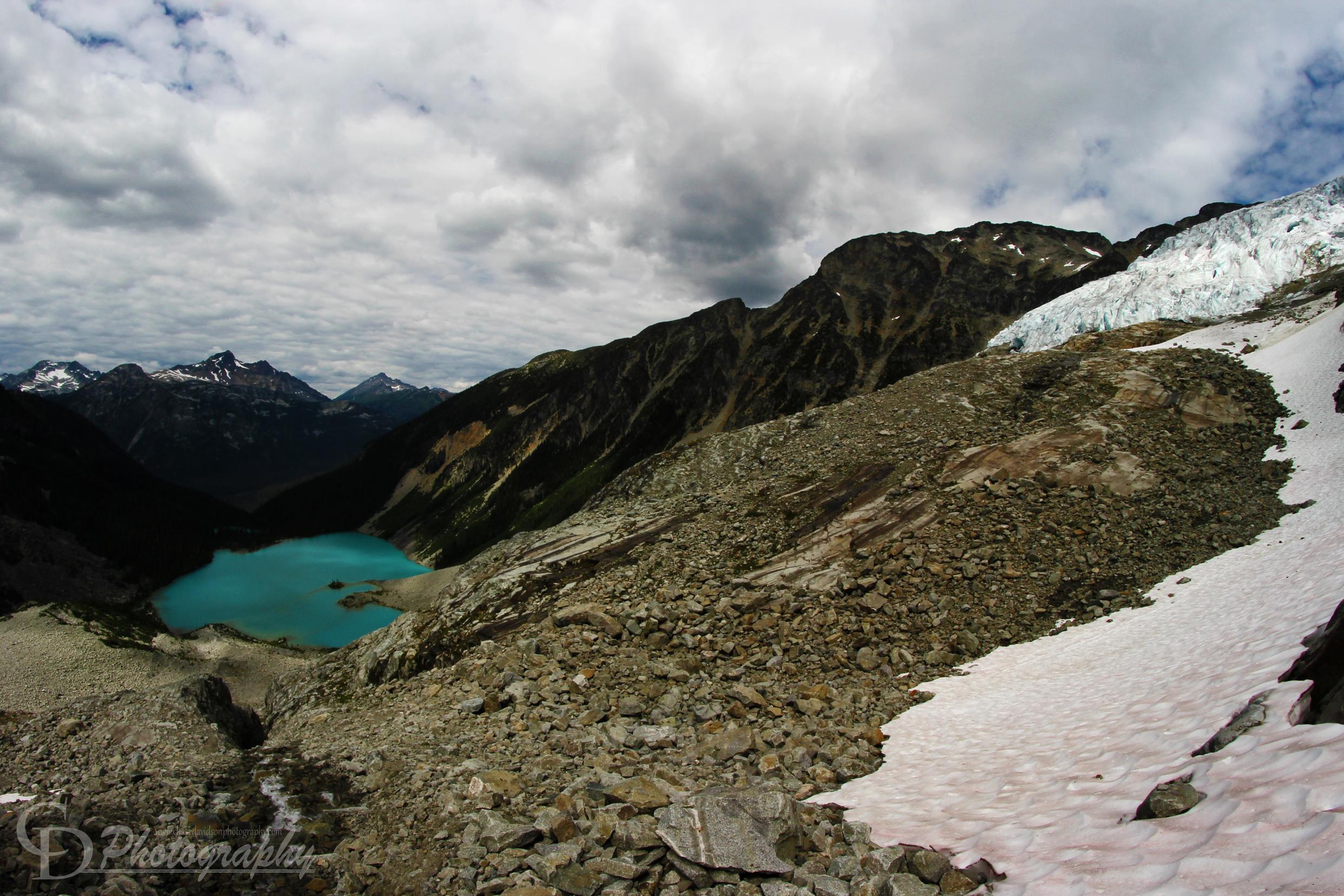 Matier Glacier Lake CDP