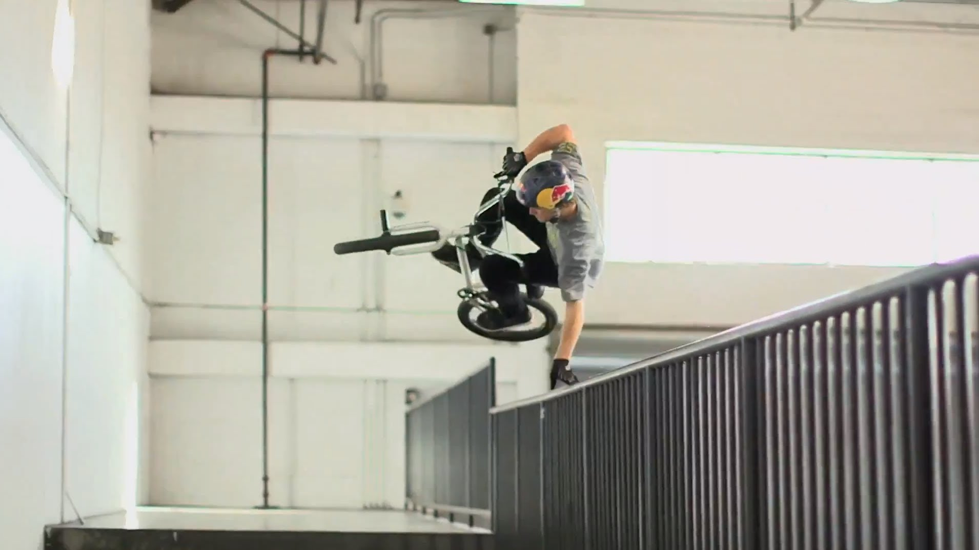 Drew Bezanson and Friends Ride a Mini Ramp