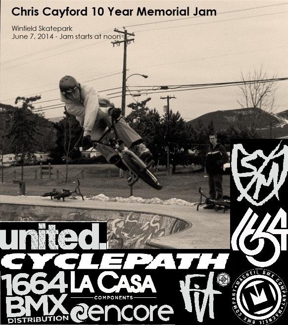 Cayford Poster B&W Final
