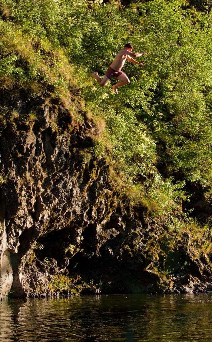 carl cliff jump