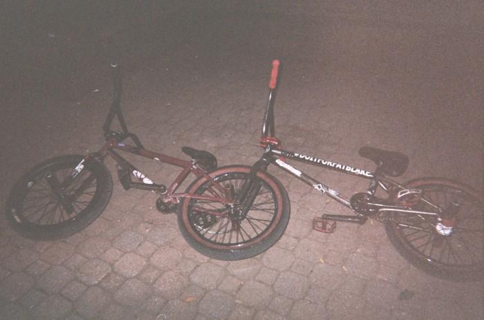 Tandem BMX for the flat fix