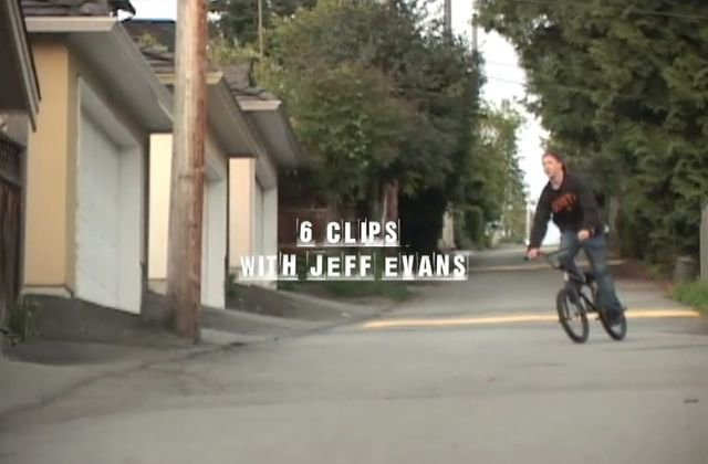 6 Clips with Jeff Evans