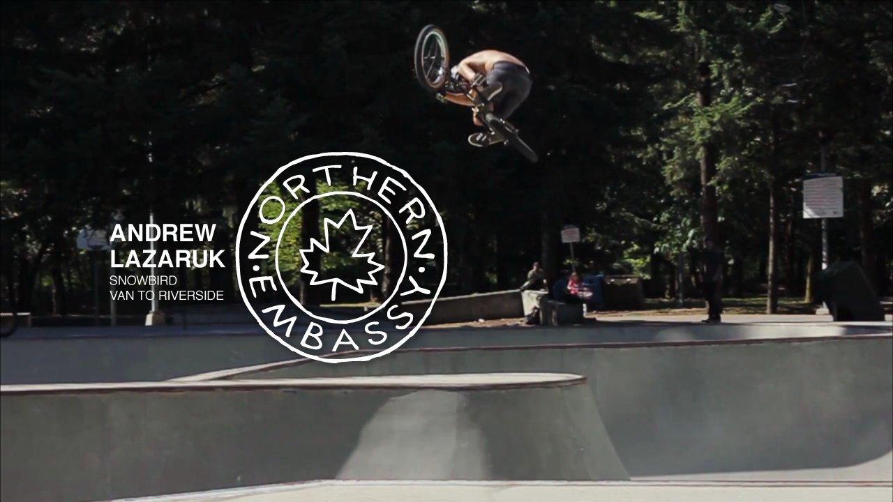 Andrew Lazaruk Vancouver/Riverside Snowbird
