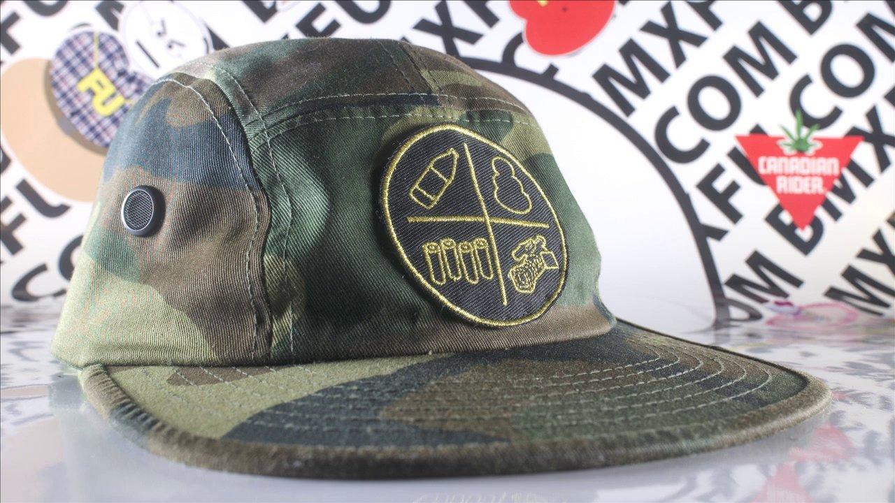 BMXFU Camper Hat promo