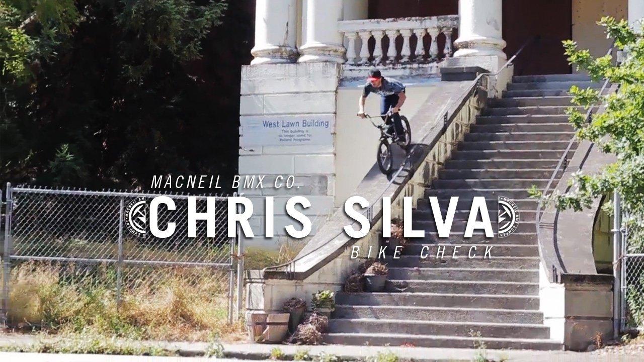 Chris Silva MacNeil Bike Check