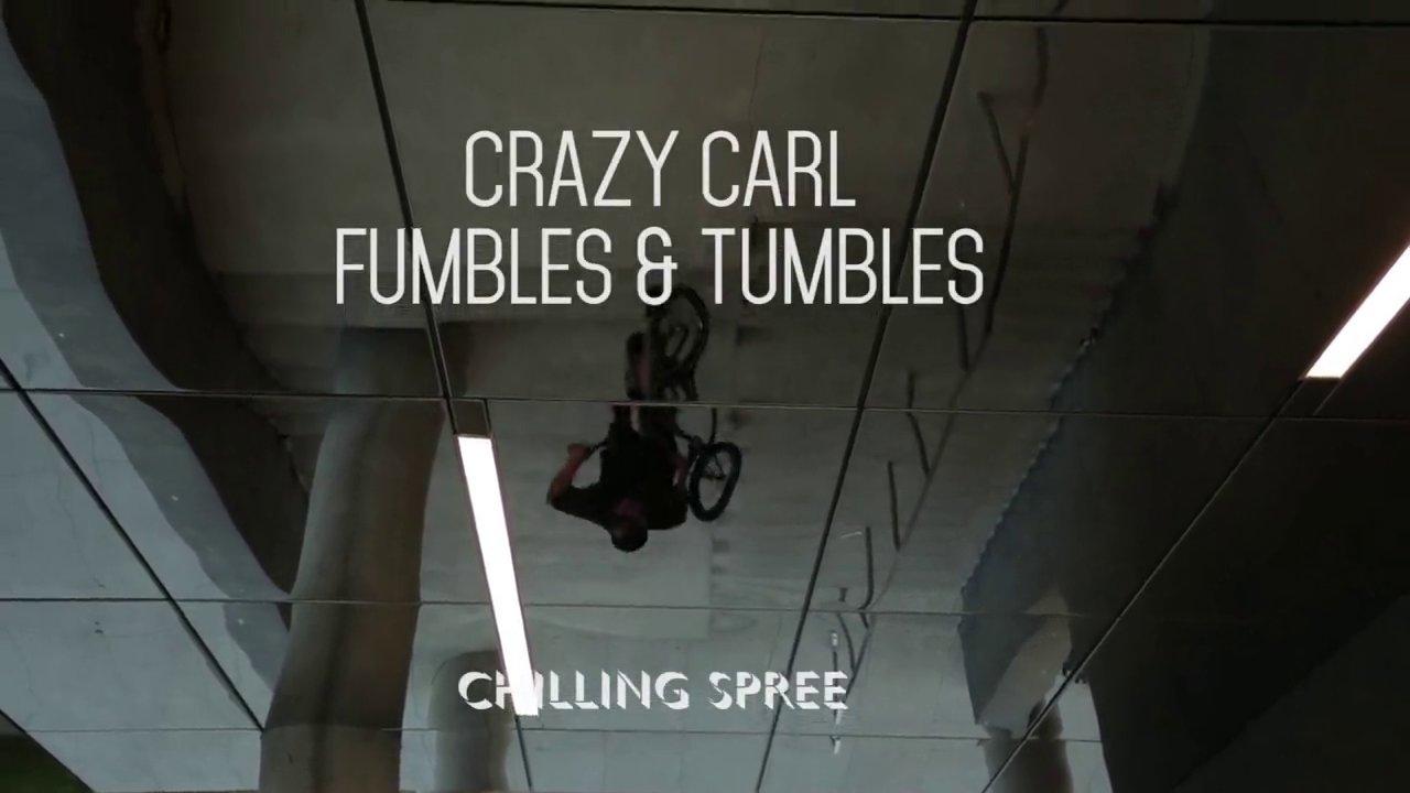 Crazy Carl Fumbles & Tumbles