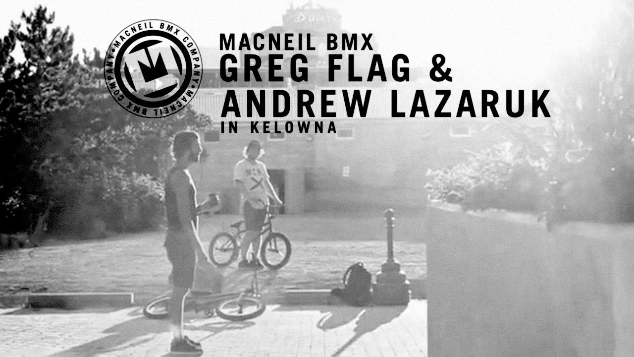 Greg and Lazer in Kelowna by Zach Rampen