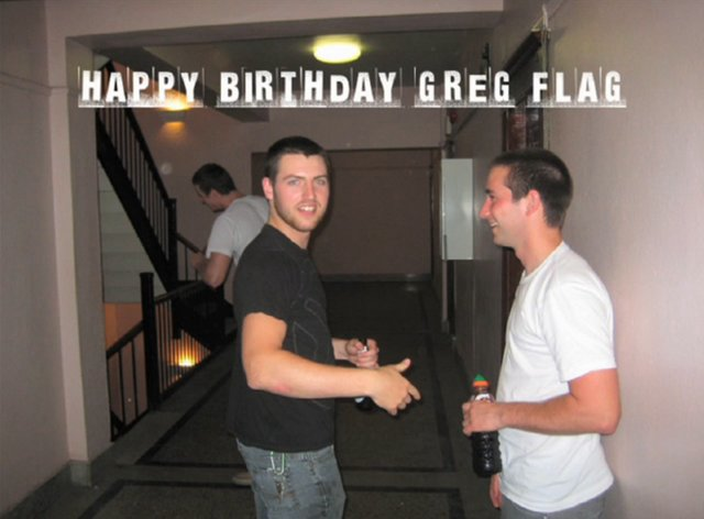 Greg Flag's Birthday