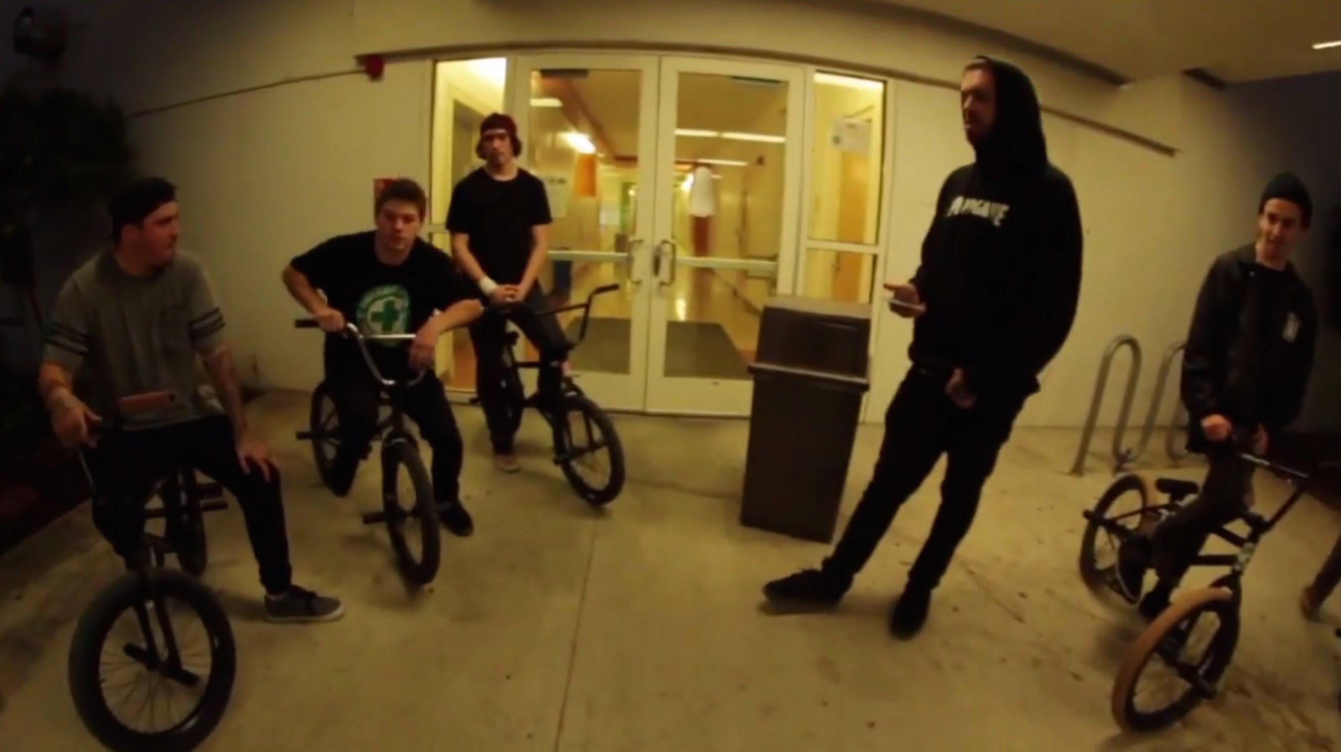 Dillon Lloyd – TCU game of Bike